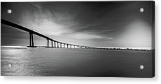 Acrylic Print featuring the photograph Way Over The Bay by Ryan Weddle