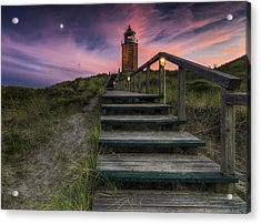 Way To Lighthouse Acrylic Print by Thomas Siegel
