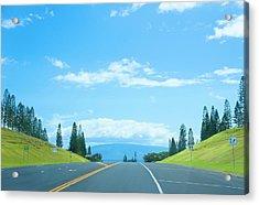 Way To Paradise Acrylic Print