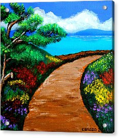 Way To The Sea Acrylic Print