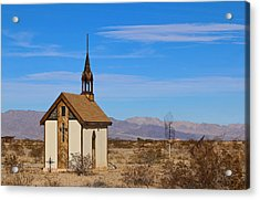 Wayside Chapel Acrylic Print
