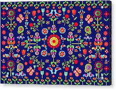 Wayuu Tapestry Acrylic Print