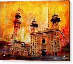 Wazir Khan Mosque Acrylic Print by Catf