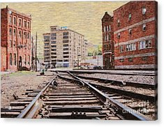 Wb - West Bottoms - Kcmo Acrylic Print by Liane Wright