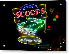 We All Scream For Acrylic Print by Greg Graham