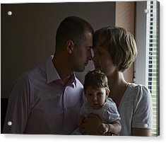We Are The Family. Acrylic Print