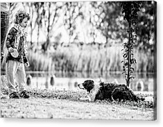 We Live As We Dream Acrylic Print by Traven Milovich