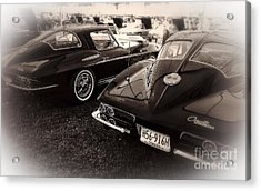 We Love Corvettes  Acrylic Print