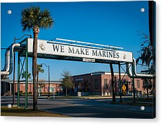 We Make Marines Acrylic Print