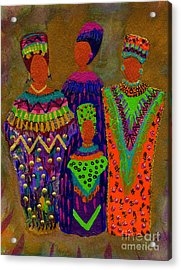 We Women 4 Acrylic Print