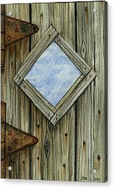 Weathered #2 Acrylic Print