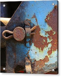 Weathered And Aged Acrylic Print