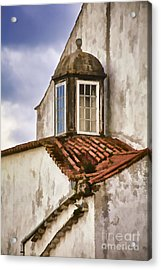 Weathered Building Of Medieval Europe Acrylic Print by David Letts