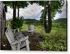 Acrylic Print featuring the photograph Weathered Rest by Tim Stanley