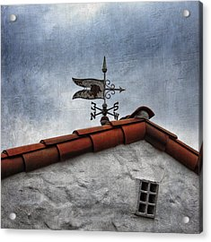 Weathered Weathervane Acrylic Print