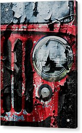 Weathered Willys Acrylic Print