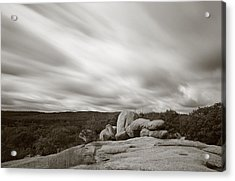 Weathering Acrylic Print by Scott Rackers