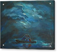 Weathering The Storm Acrylic Print