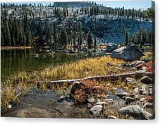 Weaver Lake- 1-7692 Acrylic Print by Stephen Parker