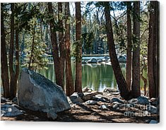Weaver Lake  1-7700 Acrylic Print by Stephen Parker