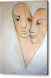 Wed Acrylic Print by Anna Elkins