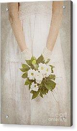 Wedding Bouquet Acrylic Print