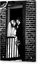 Wedding Acrylic Print by Brett Kurtz