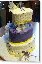 Wedding Cake For May Acrylic Print