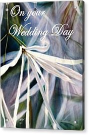 Wedding Flower Acrylic Print