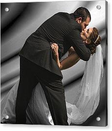 Wedding Kiss Acrylic Print