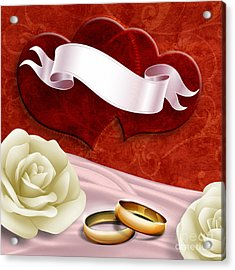 Wedding Memories V2 Passion Acrylic Print by Bedros Awak