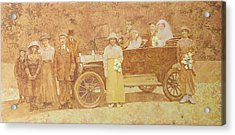 Wedding Party  Acrylic Print by Clive Metcalfe