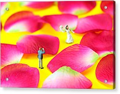 Wedding Photography Little People Big Worlds Acrylic Print by Paul Ge