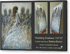 Wedding Shadows 110710 Acrylic Print