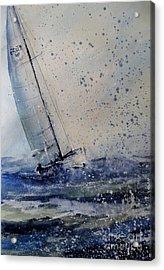 Wednesday Evening Sail Acrylic Print