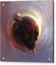 Wee La Silla Cloudscape Planet Acrylic Print by Nikki Marie Smith