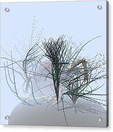 Weed Garden Acrylic Print