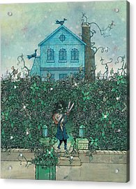 Weeding Acrylic Print by Dennis Wunsch