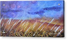 Weeds Among The Wheat Acrylic Print by Jocelyn Friis
