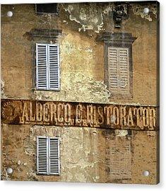 Weekend In Siena Acrylic Print