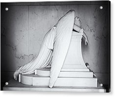 Weeping Angel 1 Acrylic Print by John Gusky