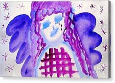 ...weeping Angel... Acrylic Print by Jutta Gabriel