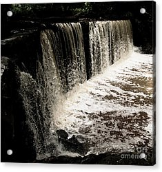 Weeping Falls Acrylic Print by Scott Allison