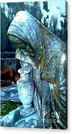 Weeping Stone Acrylic Print