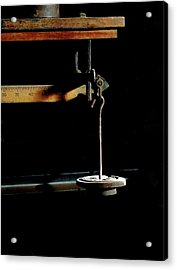Weighing Value - Vintage Fairbank Scale Acrylic Print
