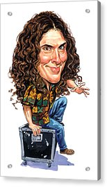 Weird Al Yankovic Acrylic Print by Art