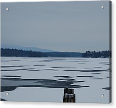 Acrylic Print featuring the photograph Weirs Beach Nh Almost by Mim White