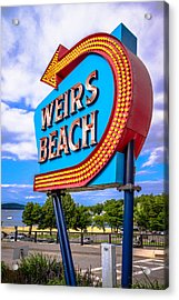 Weirs Beach Acrylic Print