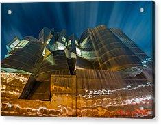 Weisman Art Museum Acrylic Print by Mark Goodman