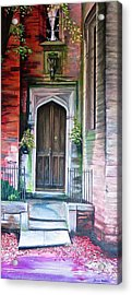 Welcome Home Acrylic Print by Bonnie Heather
